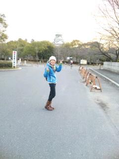 大阪城だよ