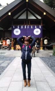 東京大神宮に行ってまいりました。