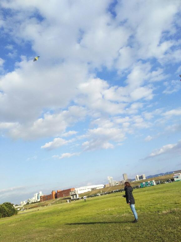 なんていい天気。